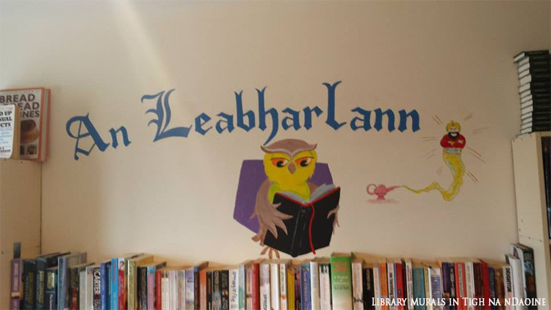 Library Murals in Tigh na nDaoine