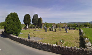 Old Graveyard in Newcastle Tipperary