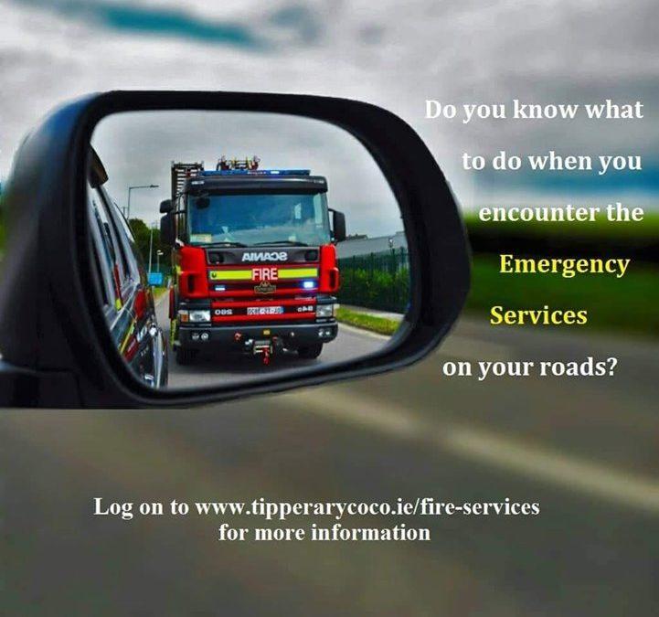 Blue Light Awareness – Emergency Vehicles on Roads