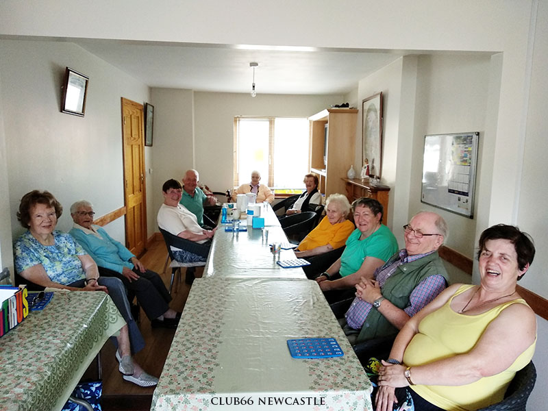 Club 66 Senior Citizen Group in Newcastle, Tipperary. call Mary on 052 6120141 on Tuesdays or Wednesdays 10am to 12noon.