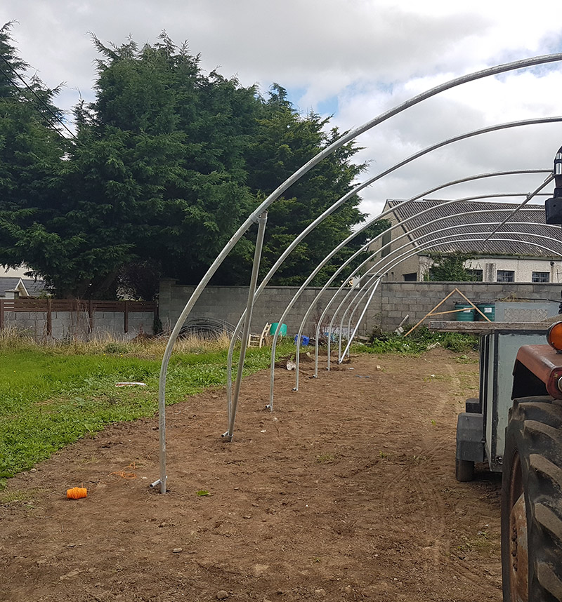 Newcastle Community Composting Polytunnel 4