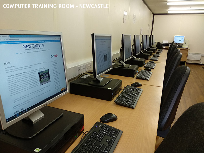 Computer Training Room - Newcastle Community Youth & Resource Group