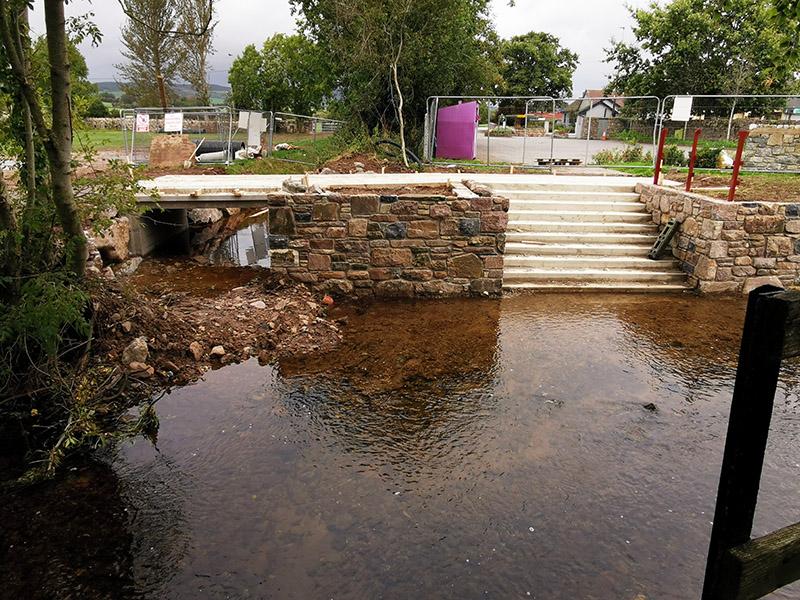 Suir Blueway (walking path) in Newcastle, Clonmel Tipperary October 4th 2019 - Photo 5 foot bridge