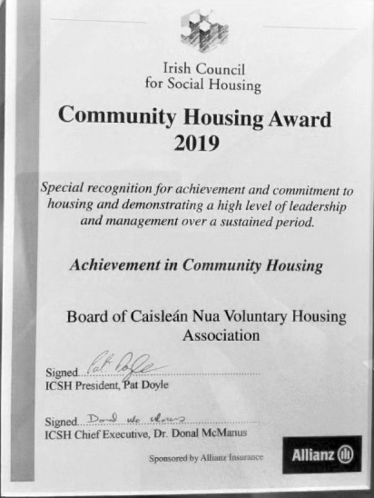 Community Housing Award 2019