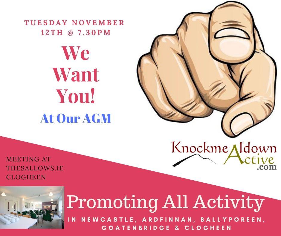 Knockmealdown Active AGM 2019