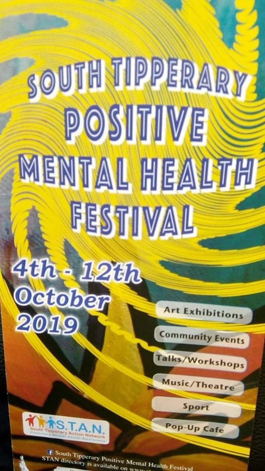 South Tipperary Positive Mental Health Festival 2019