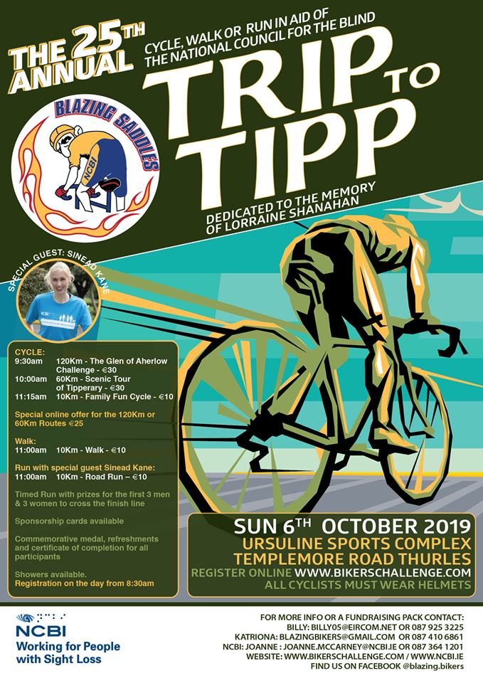 Trip to Tipp Charity Cycle 2019