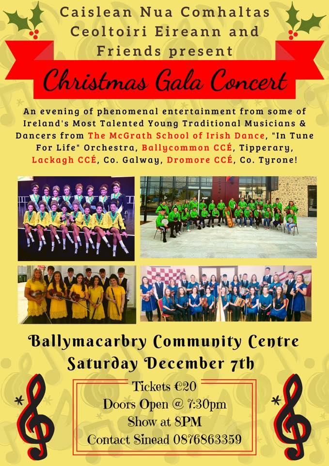 Newcastle CCS Christmas Gala Concert