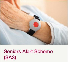 Socially Monitored Pendant Alarms.