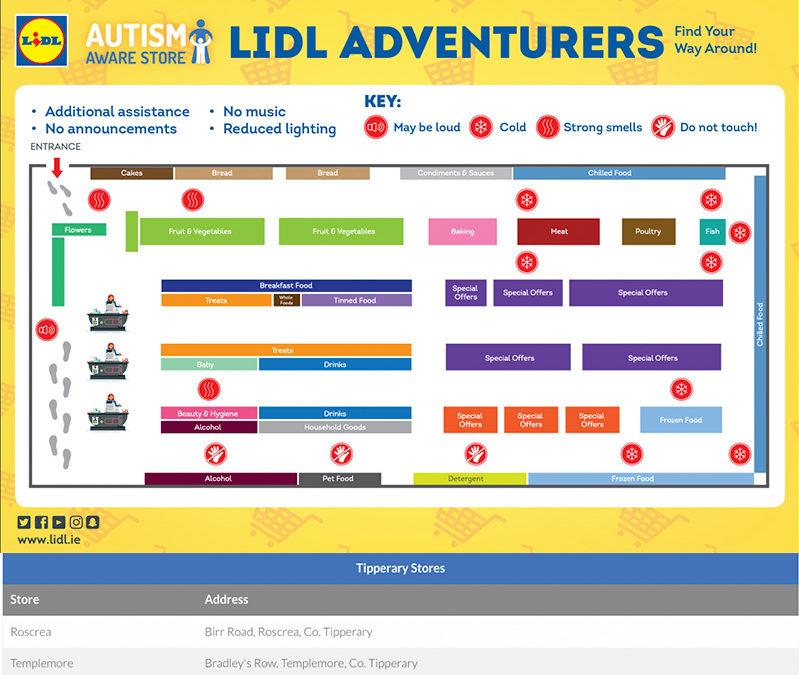 Lidl offer Autism Aware Quiet Evenings
