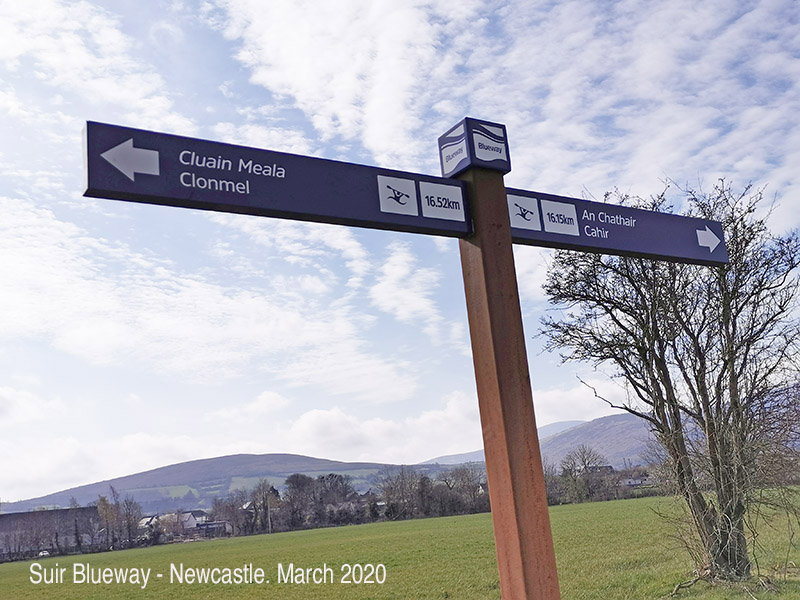 Suir Blueway in Newcastle Village – Update 23rd March 2020