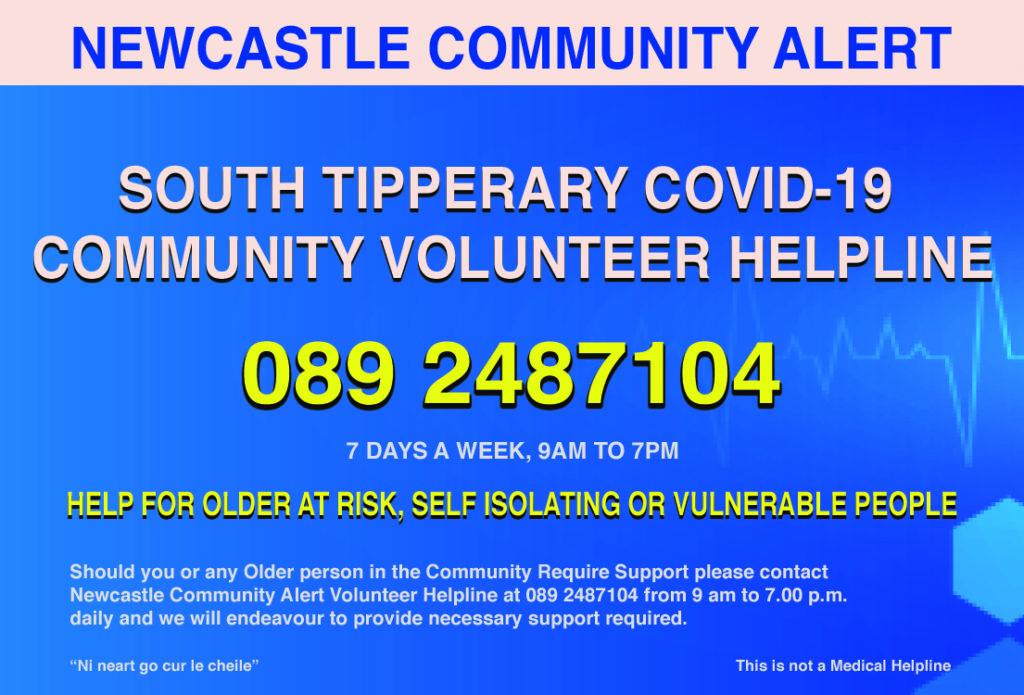 Newcastle Community Alert Advert