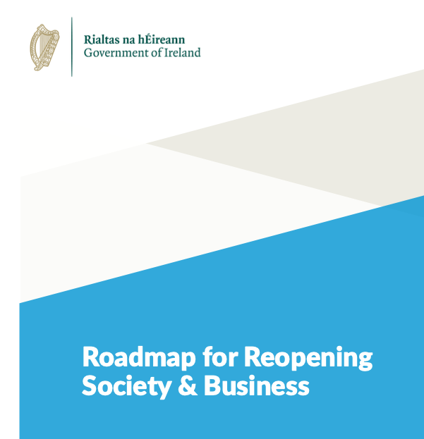 Roadmap for reopening society and business