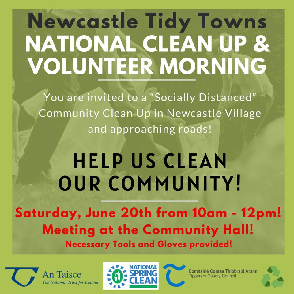 Newcastle Volunteer Clean Up Morning this Saturday 20th June