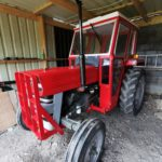 BN&B CE Scheme restoration work Massey Ferguson 135 July 2020