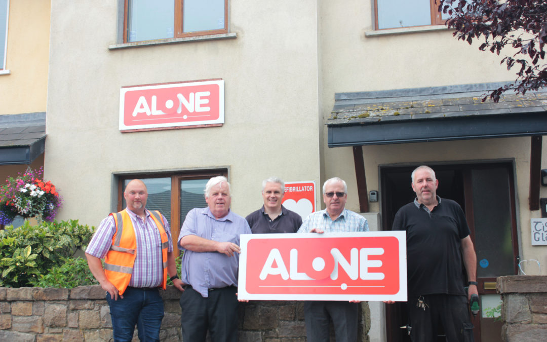 ALONE is looking forward to providing specialist supports for Older People in Tipperary