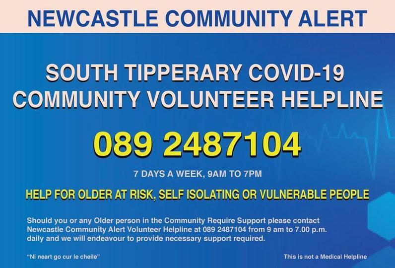 Newcastle Community Alert Helpline