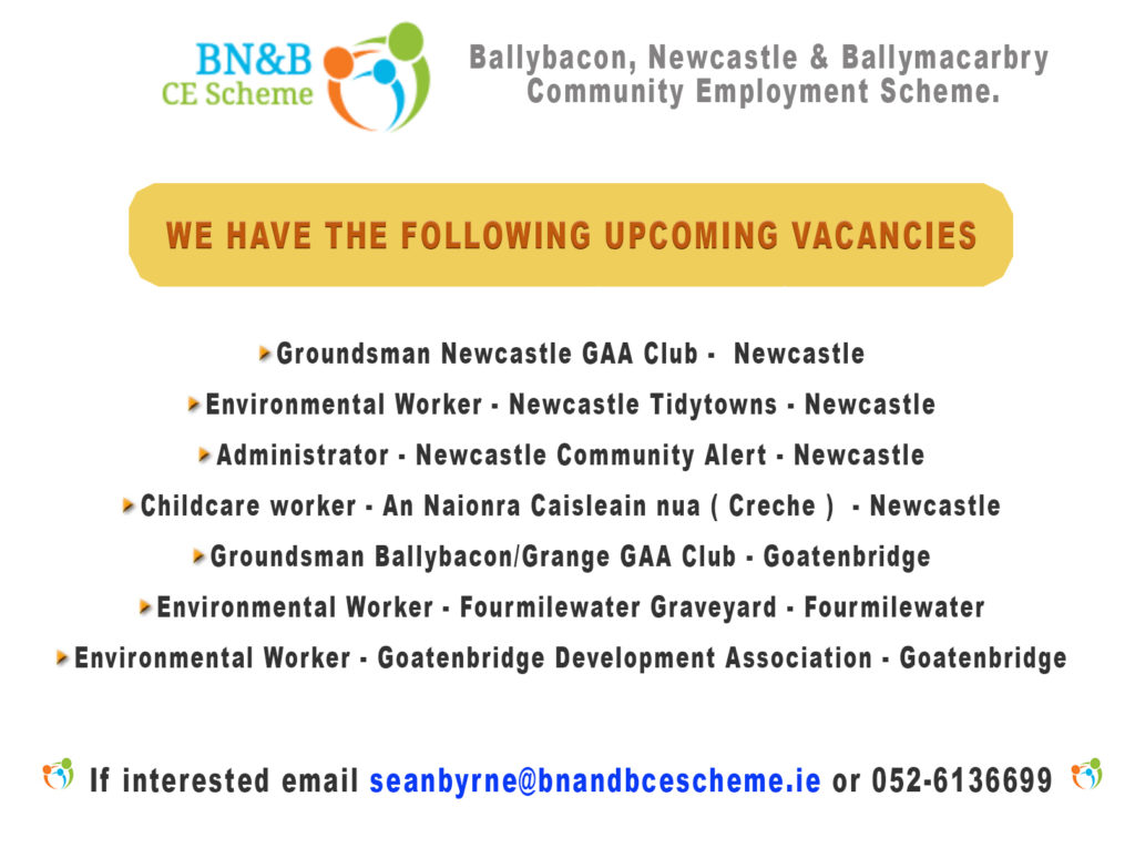 bn&b ce scheme job vacancies