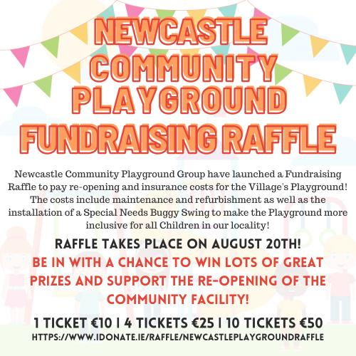 Re-Open Newcastle Playground! Raffle Draw 2nd September